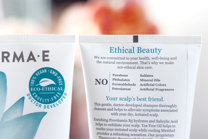 The Best Color Safe Dandruff Shampoo Derma E Scalp Relief