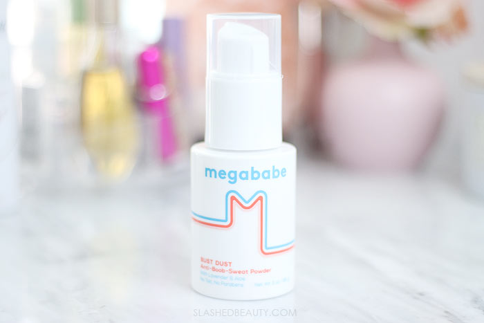 How to Beat Boob Sweat During Summer   How to Control Boob Sweat with Powder   Megababe Bust Dust Review   Slashed Beauty