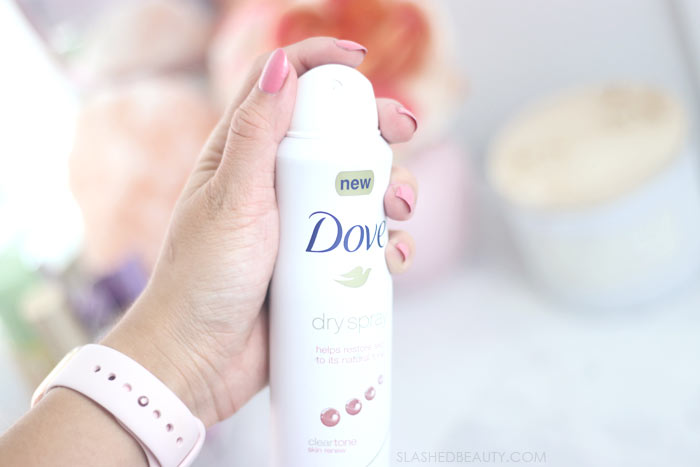 How to Beat Boob Sweat During Summer   How to Control Boob Sweat with Dry Spray Deodorant   Slashed Beauty