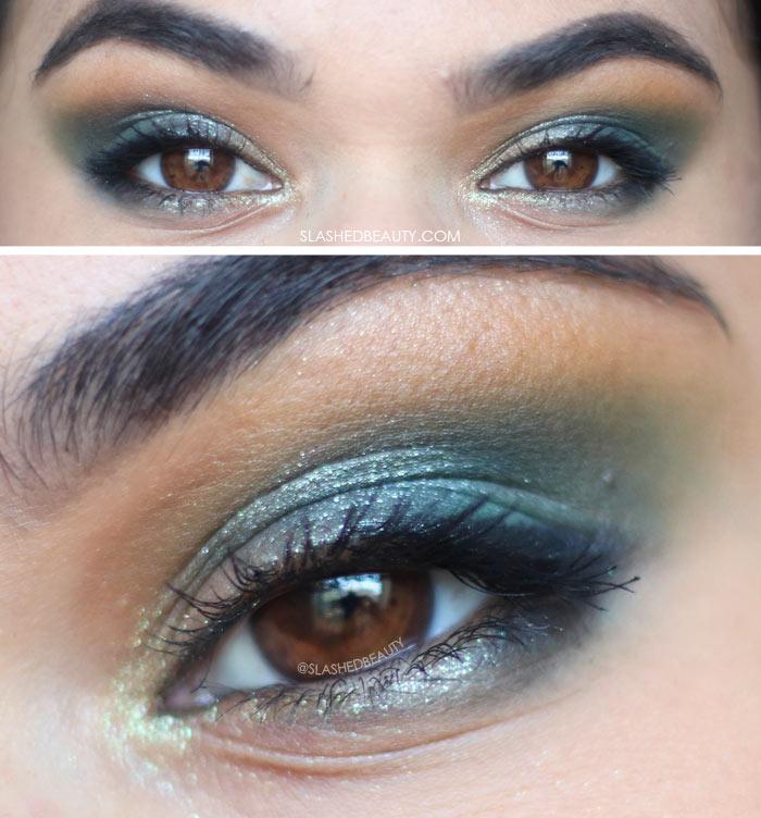 Alter Ego Goddess Eyeshadow Palette Review & Swatches   Goddess Eye Look   Slashed Beauty