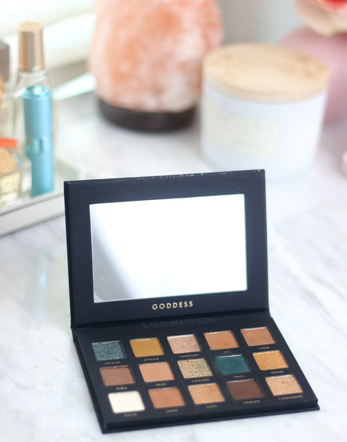 Alter Ego Goddess Eyeshadow Palette Review & Swatches   Slashed Beauty