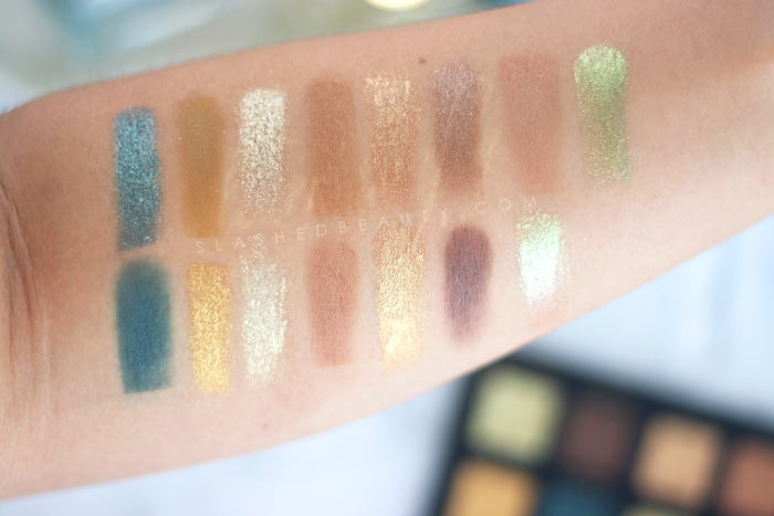 Alter Ego Goddess 15 Color Eyeshadow Collection Review & Swatches | Slashed Beauty