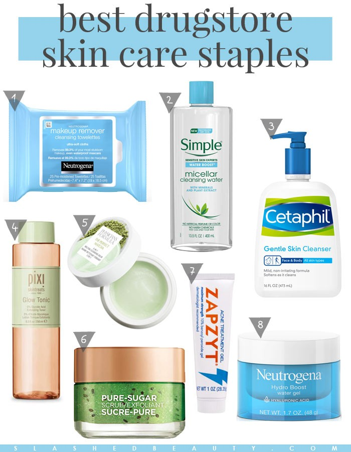 The Best Drugstore Skin Care Product Staples | Slashed Beauty