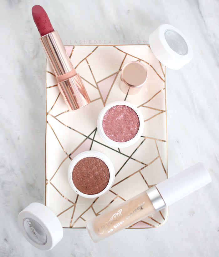 Recent ColourPop at Ulta Beauty Haul | ColourPop in stores at Ulta Beauty | Slashed Beauty