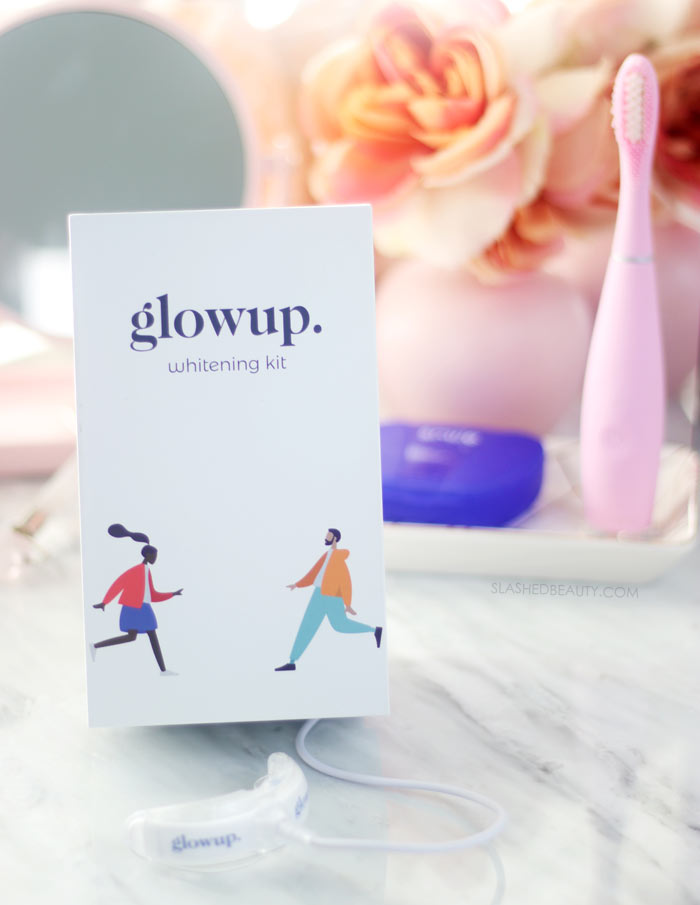 glowup. Review: Personalized At Home Teeth Whitening | Slashed Beauty