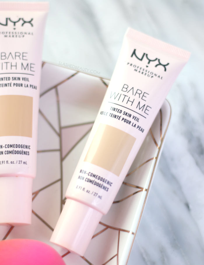 REVIEW: NYX Bare With Me Tinted Skin Veil | Slashed Beauty