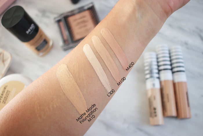 Covergirl TruBlend Undercover Concealer Swatches | Review for Combo Skin | Best New Full Coverage Drugstore Concealer | Slashed Beauty