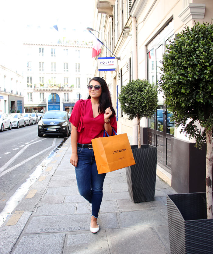 What to Wear in Paris in September: Vacation Outfits | Paris Outfit Inspiration | Slashed Beauty