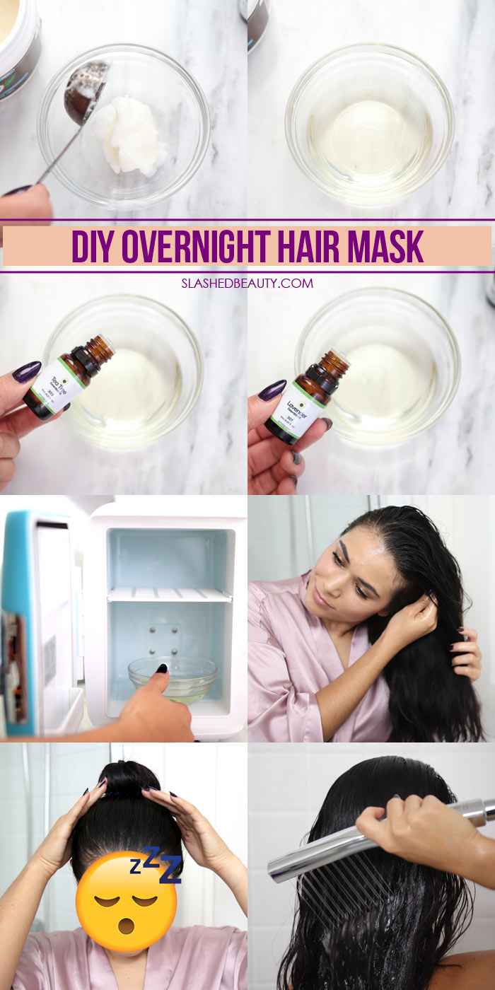 DIY Overnight Hair Mask for Fall Dandruff & Dryness | Waterpik® BodyWand Spa System Shower Head for Thick Hair | Slashed Beauty