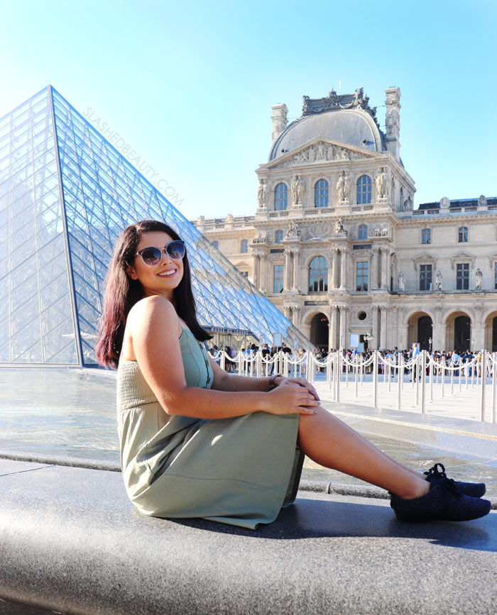 Outfits for Paris Vacation | Green Sundress | Slashed Beauty