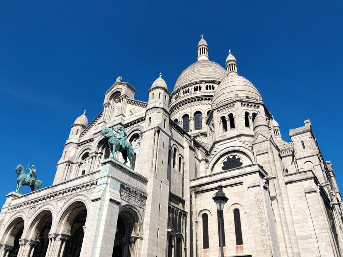 The Best 4 Days in Paris Itinerary: What to See in Paris & How to Do It in 4 Days | Sacre Coeur Cathedral in Montmartre Paris | Slashed Beauty