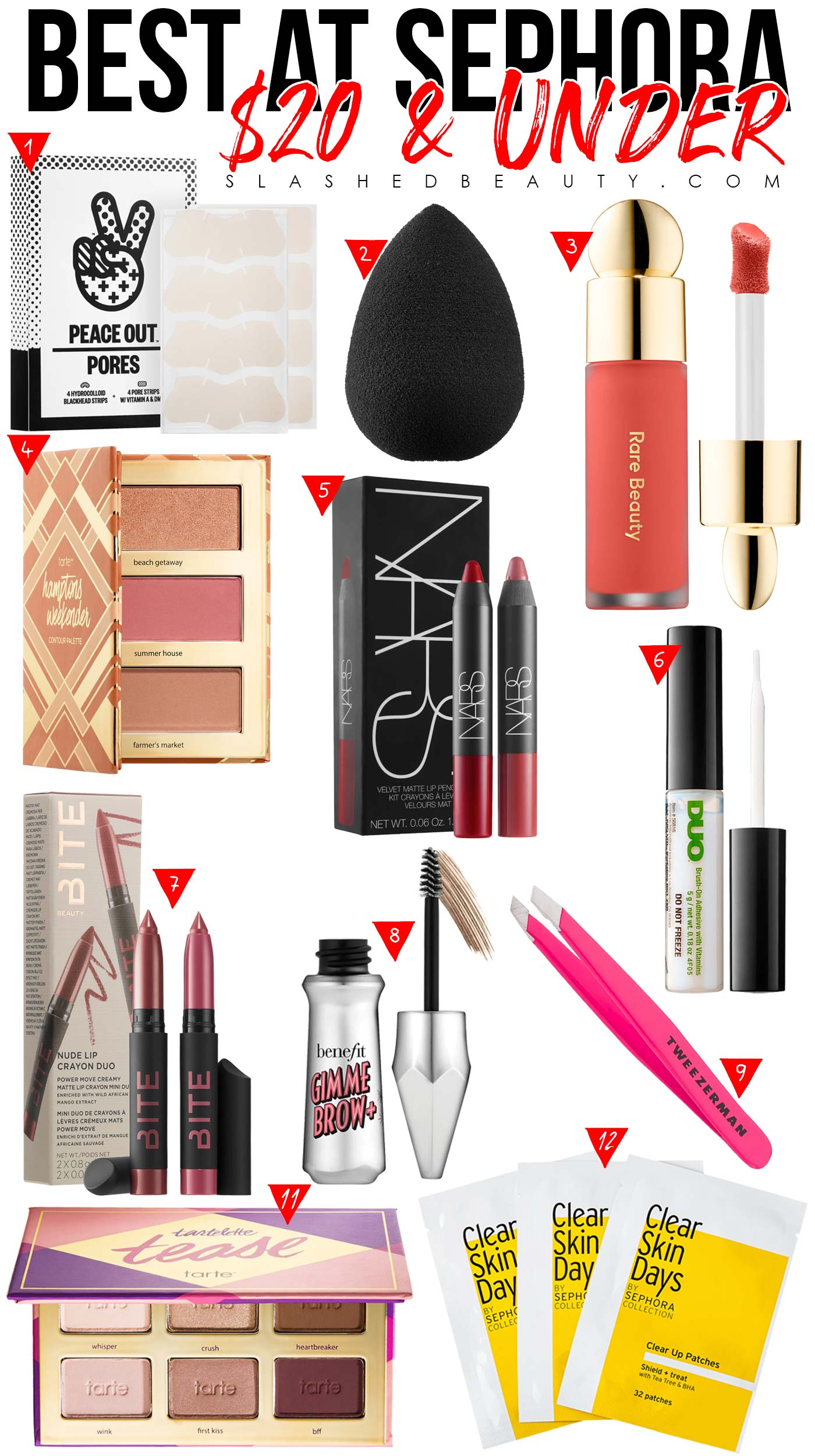 What to Buy at Sephora with $20 or Less | The Best Products at Sephora for $20 | Slashed Beauty