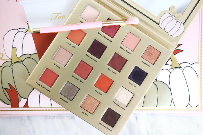 Fall Beauty Deal Alert: Too Faced Pumpkin Spice & Everything Nice Makeup Set | Fall Makeup Set | Pumpkin Spice Makeup | Too Faced Pumpkin Spice Eyeshadow Palette 2019 | Slashed Beauty