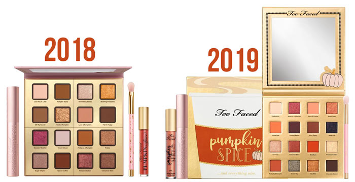 Fall Beauty Deal Alert: Too Faced Pumpkin Spice & Everything Nice Makeup Set 2019 | Fall Makeup Set | Pumpkin Spice Makeup | Slashed Beauty