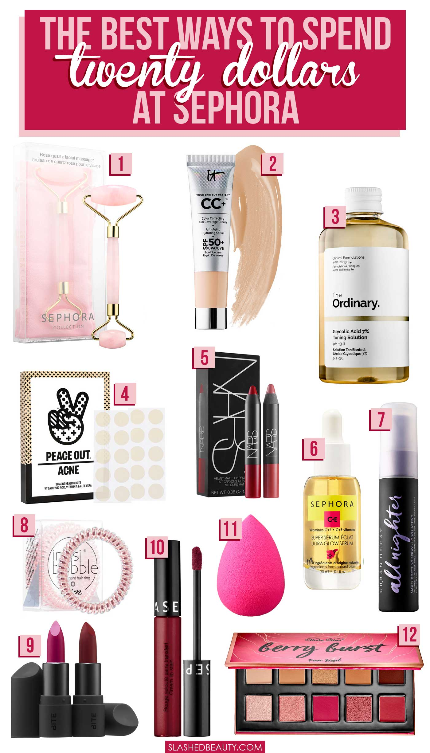What to Buy at Sephora with $20 or Less | Shopping Budget Beauty at Sephora | Slashed Beauty