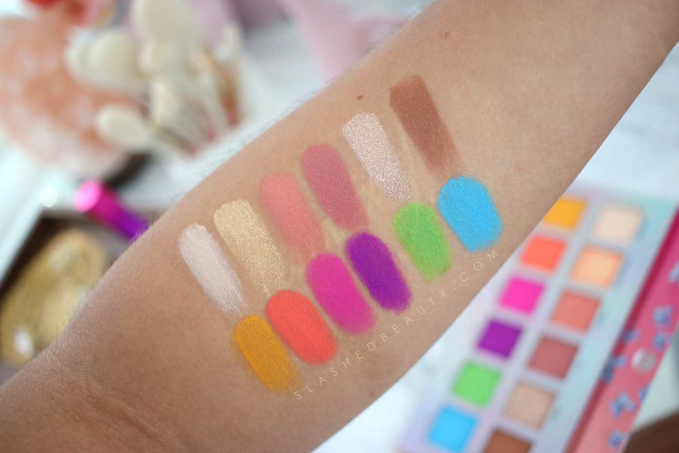 BH Cosmetics Laviedunprince Palette Swatches | Slashed Beauty
