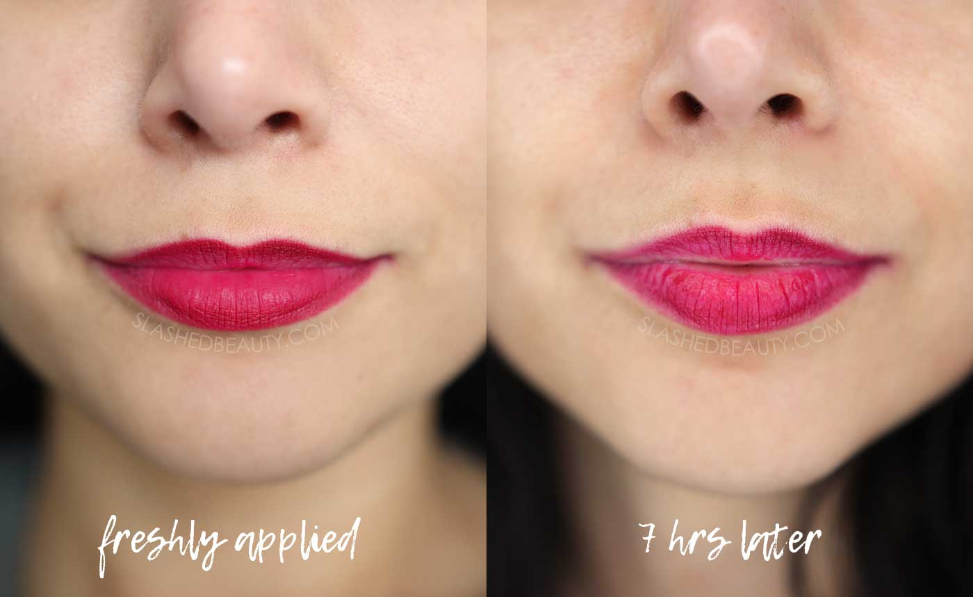 Revlon Super Lustrous The Luscious Mattes Lipstick Review | Before & After Swatches | Slashed Beauty