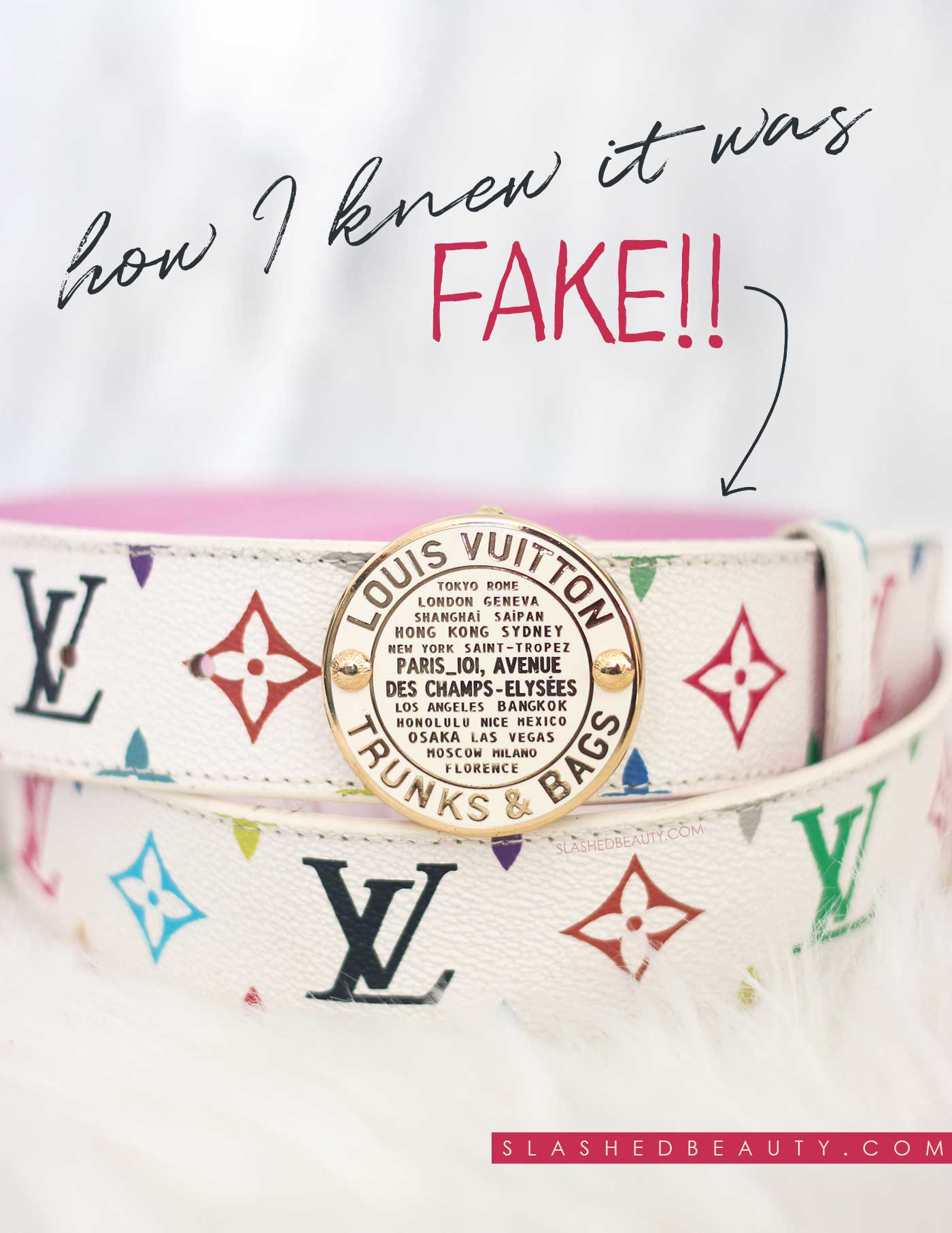 How to Tell a Fake Louis Vuitton Belt in 5 Steps | How to Avoid Fake Louis Vuitton Scams | Slashed Beauty