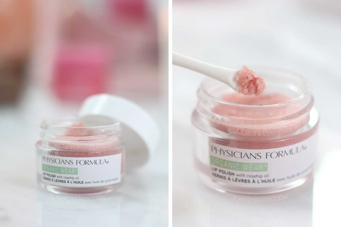 How to Get Rid of Chapped Lips for Good | Physicians Formula Organic Wear Lip Polish Review | Best Products for Chapped Lips | Slashed Beauty