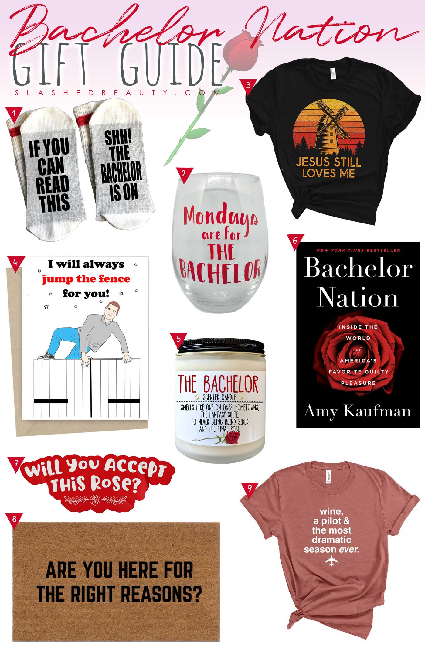 9 The Bachelor Fan Gifts for Valentine's Day | Bachelor Nation Gift Guide | Slashed Beauty