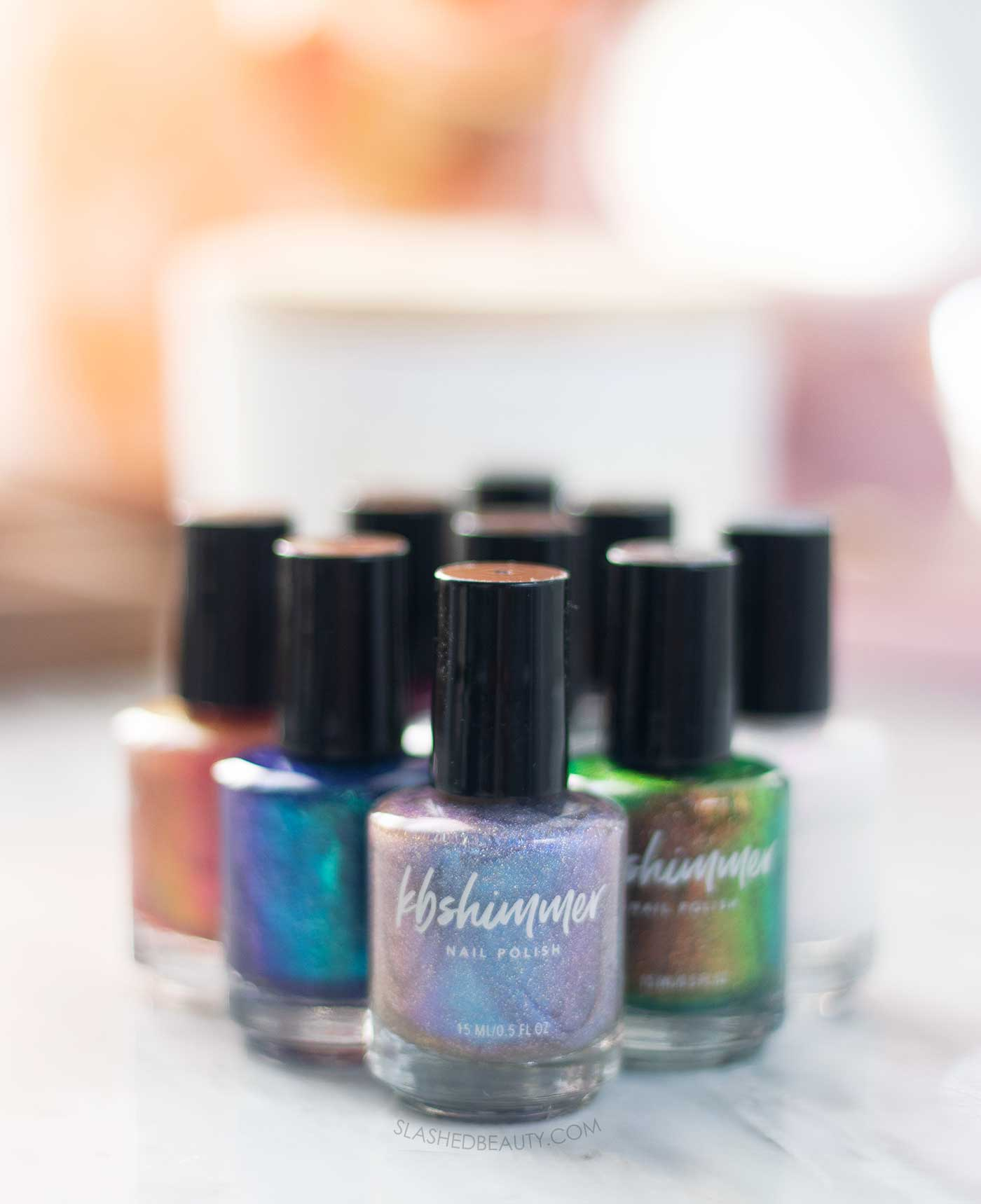 KBShimmer License to Chill Nail Polish Collection Swatches & Review | Slashed Beauty