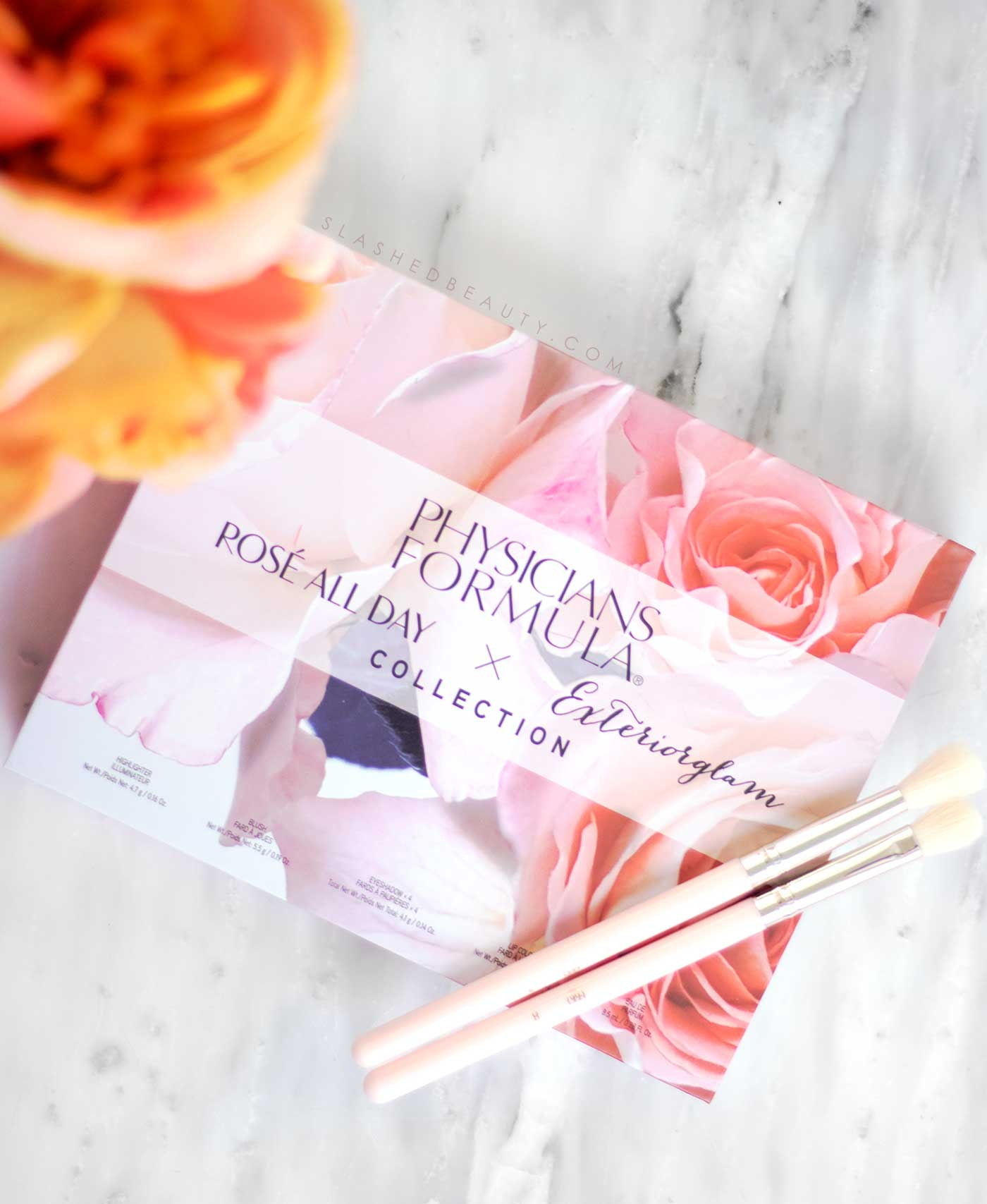 Physicians Formula Rosé All Day Collection x Exteriorglam Box Set Review | Slashed Beauty