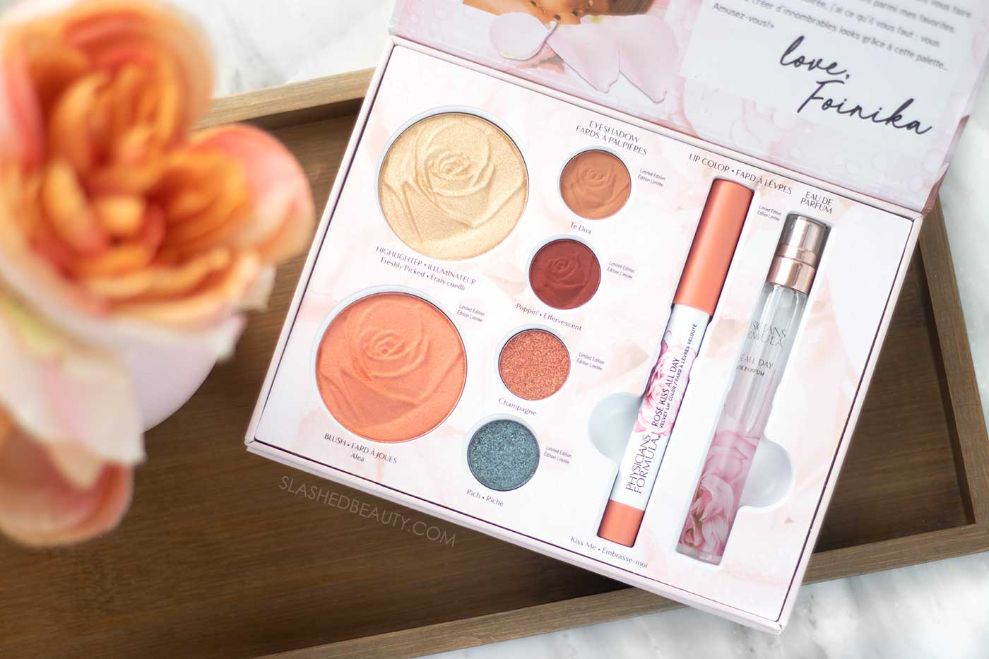 Inside the Physicians Formula Rosé All Day Collection x Exteriorglam Box Set Review & Swatches | Slashed Beauty