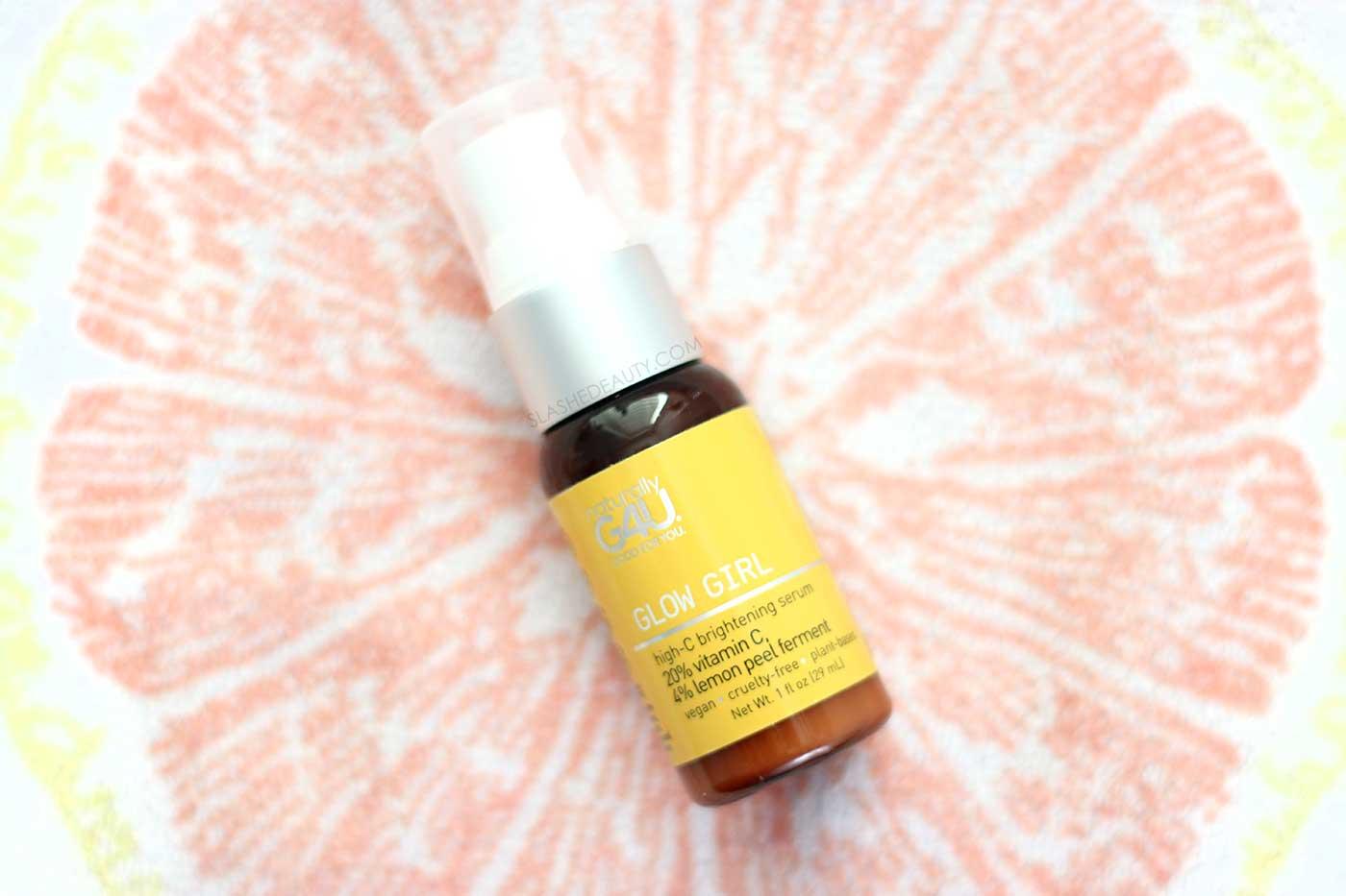 Naturally G4U Glow Girl High-C Brightening Serum | Best Drugstore Skin Care for Acne Prone Skin | Slashed Beauty