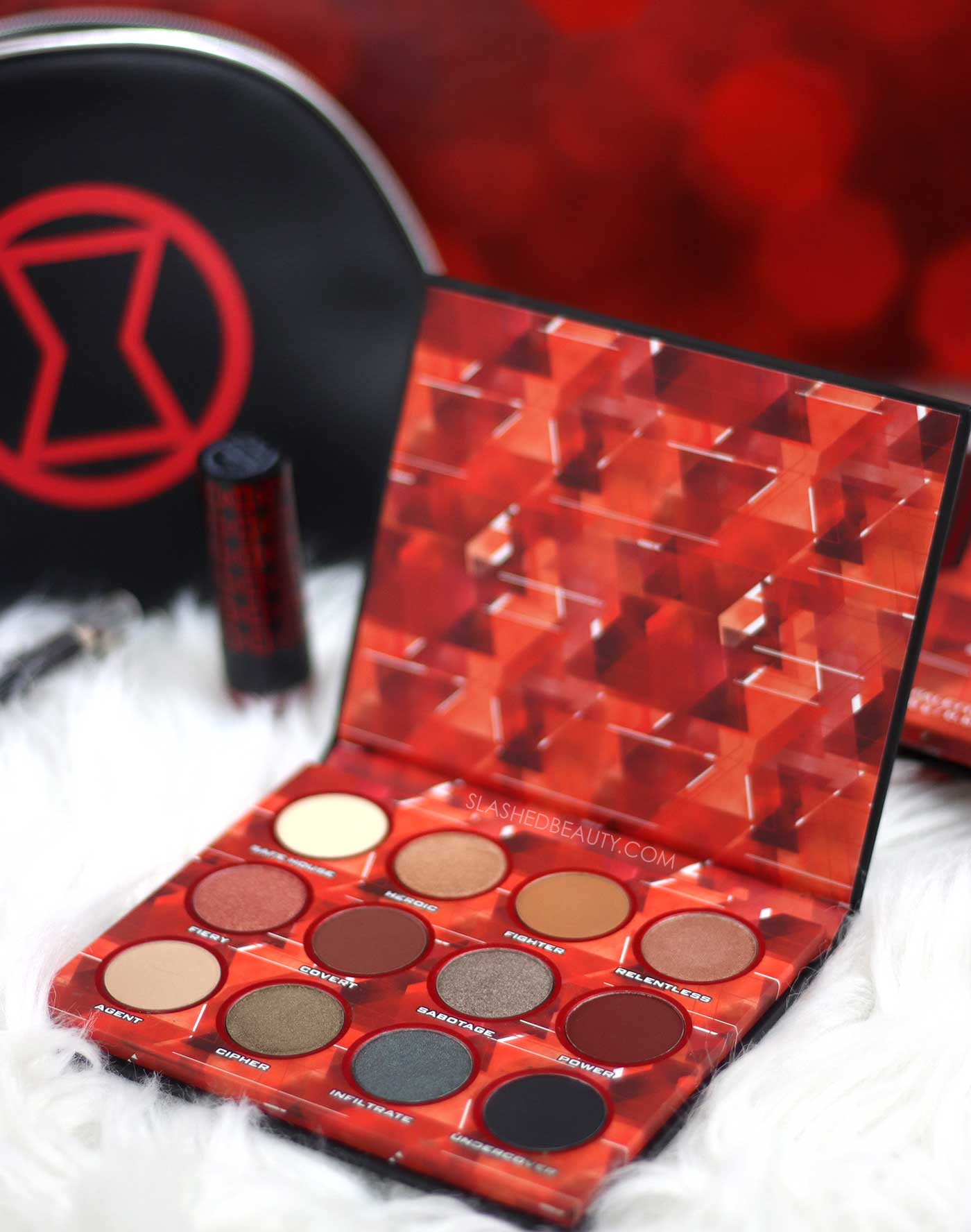 Ulta Beauty Collection x Black Widow Eye Shadow Palette Review | Slashed Beauty