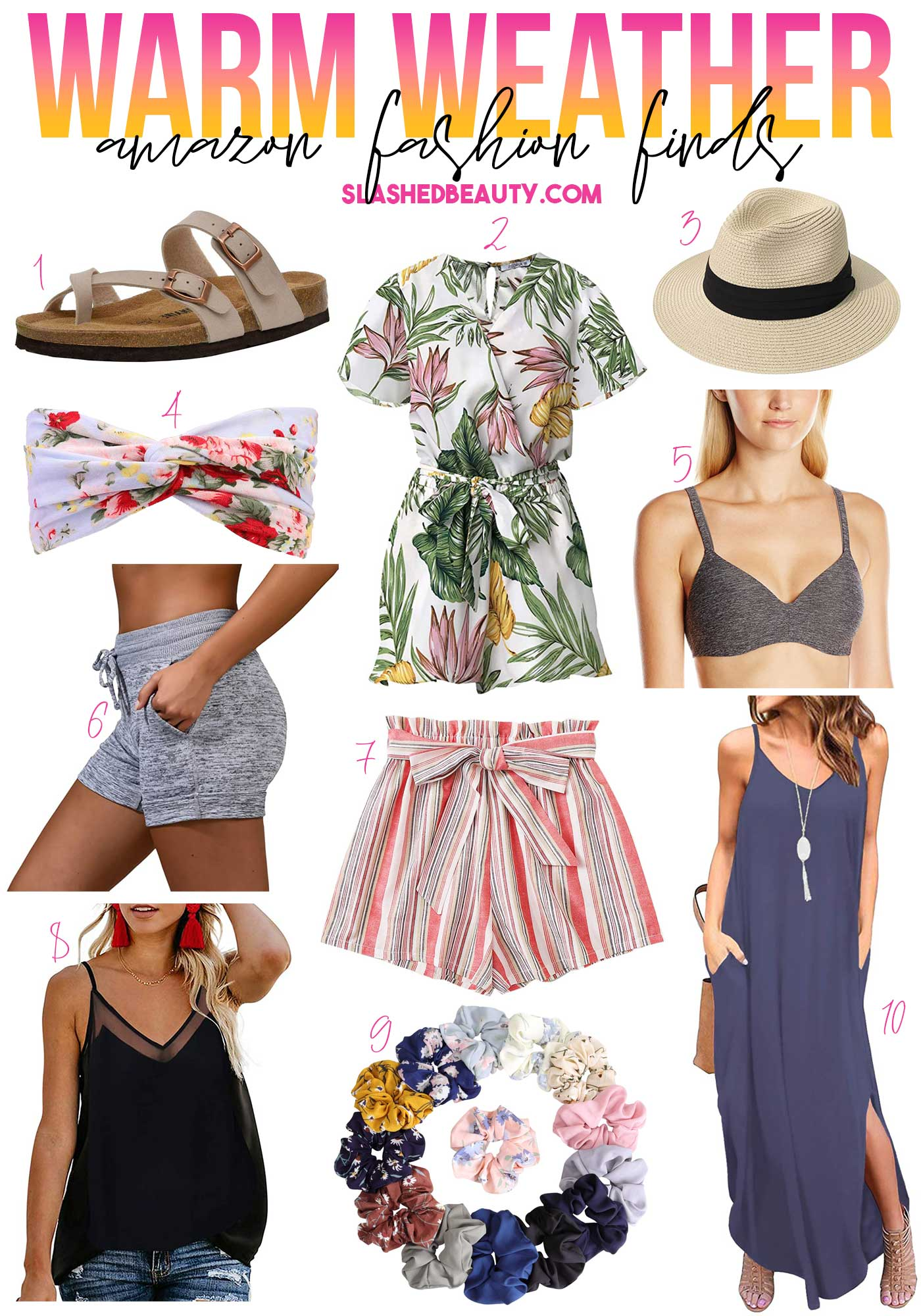 10 Amazon Summer Fashion Finds Under $30 | Easy Summer Outfits | Slashed Beauty