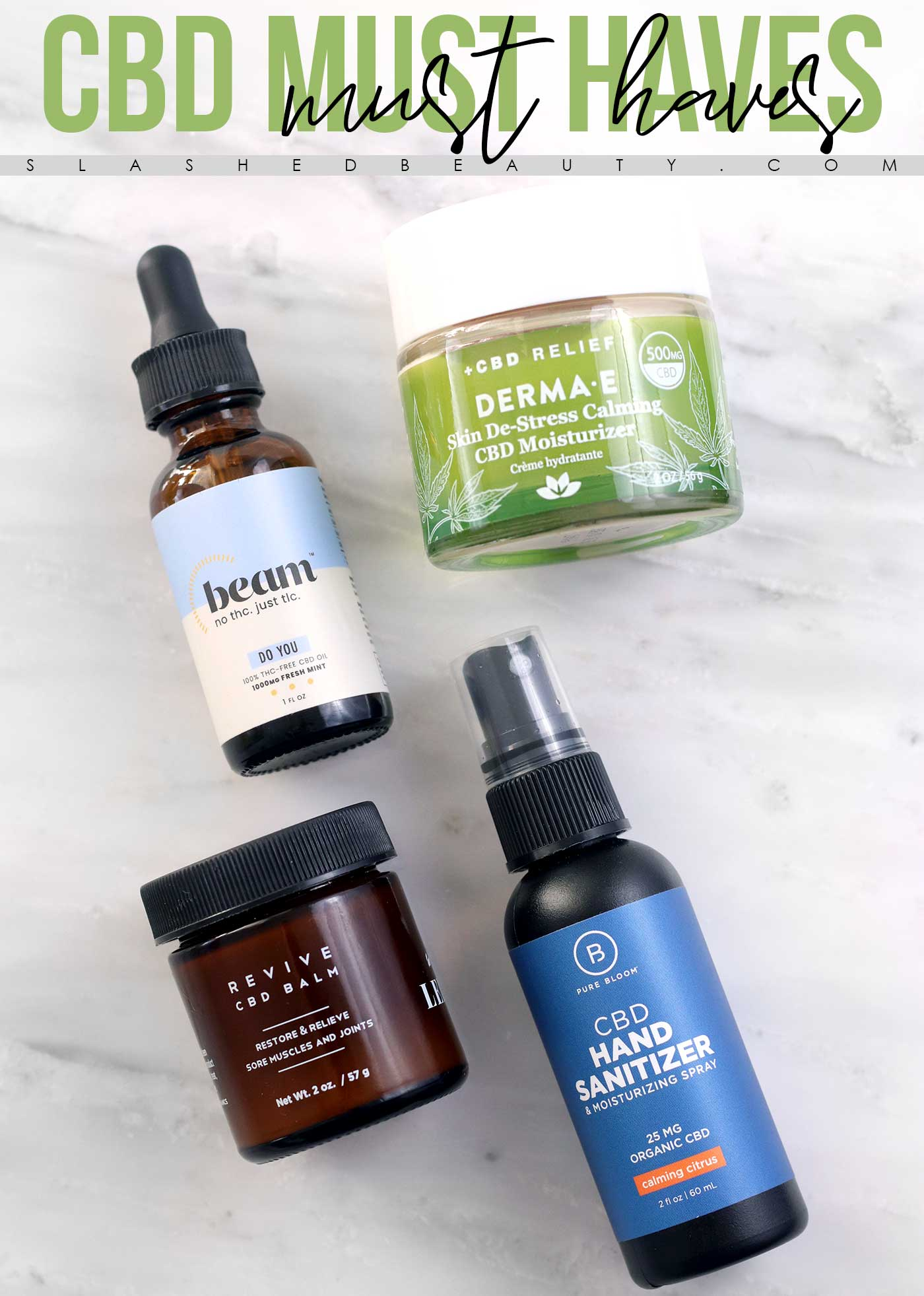 4 Must-Have CBD Products that I Can't Live Without | The Best CBD Products | Slashed Beauty
