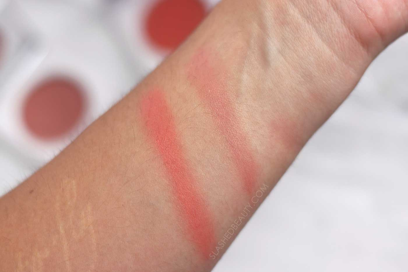 Honest Beauty Creme Cheek Blush Swatches | 5 Best Honest Beauty Products | Slashed Beauty