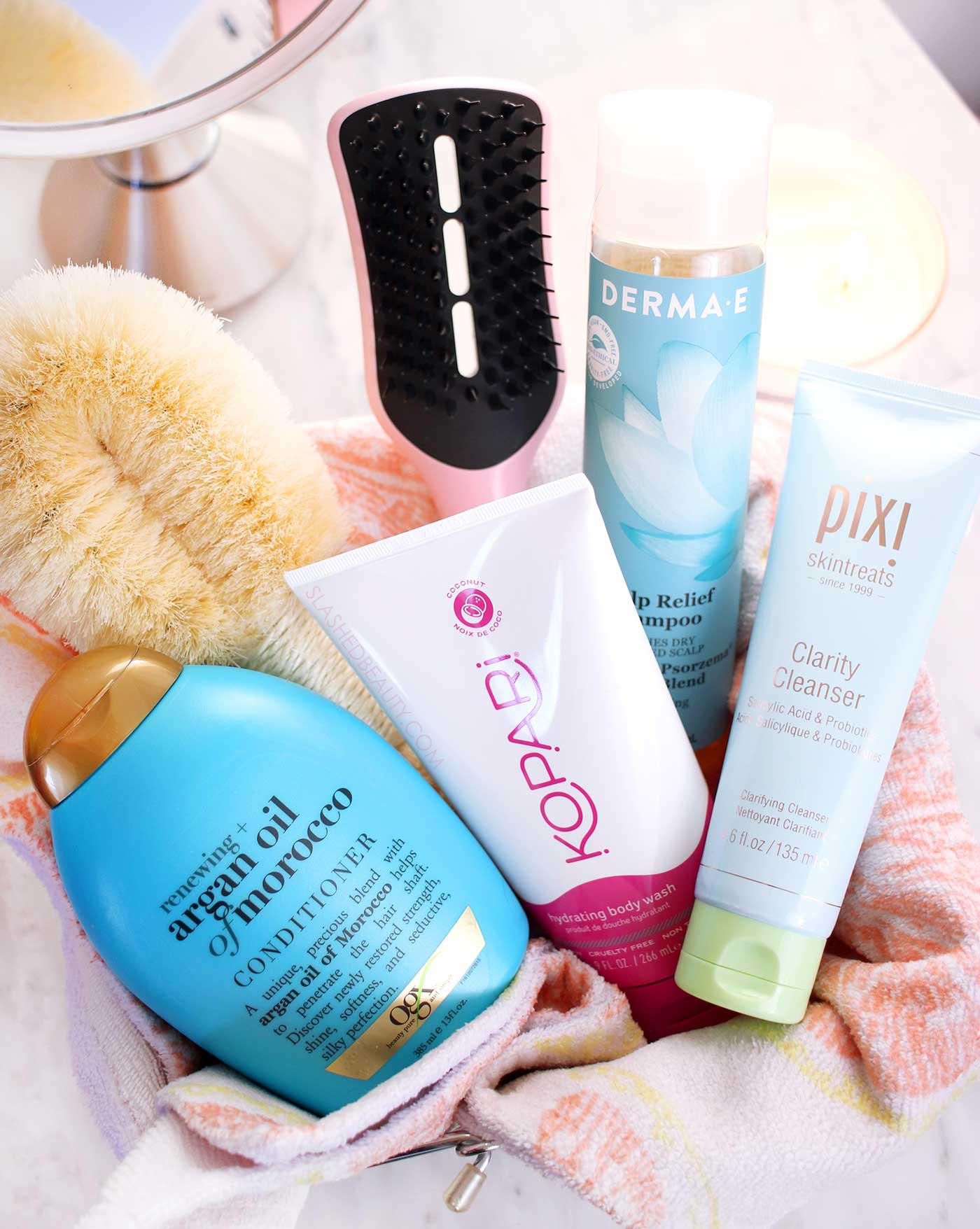 Six Summer Shower Favorites   Best Shower Products for Summer   Slashed Beauty