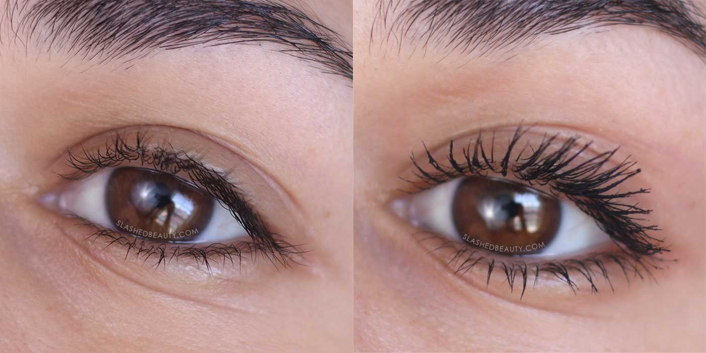 Honest Beauty Extreme Length Mascara & Lash Primer Before After | 5 Best Honest Beauty Products | Slashed Beauty