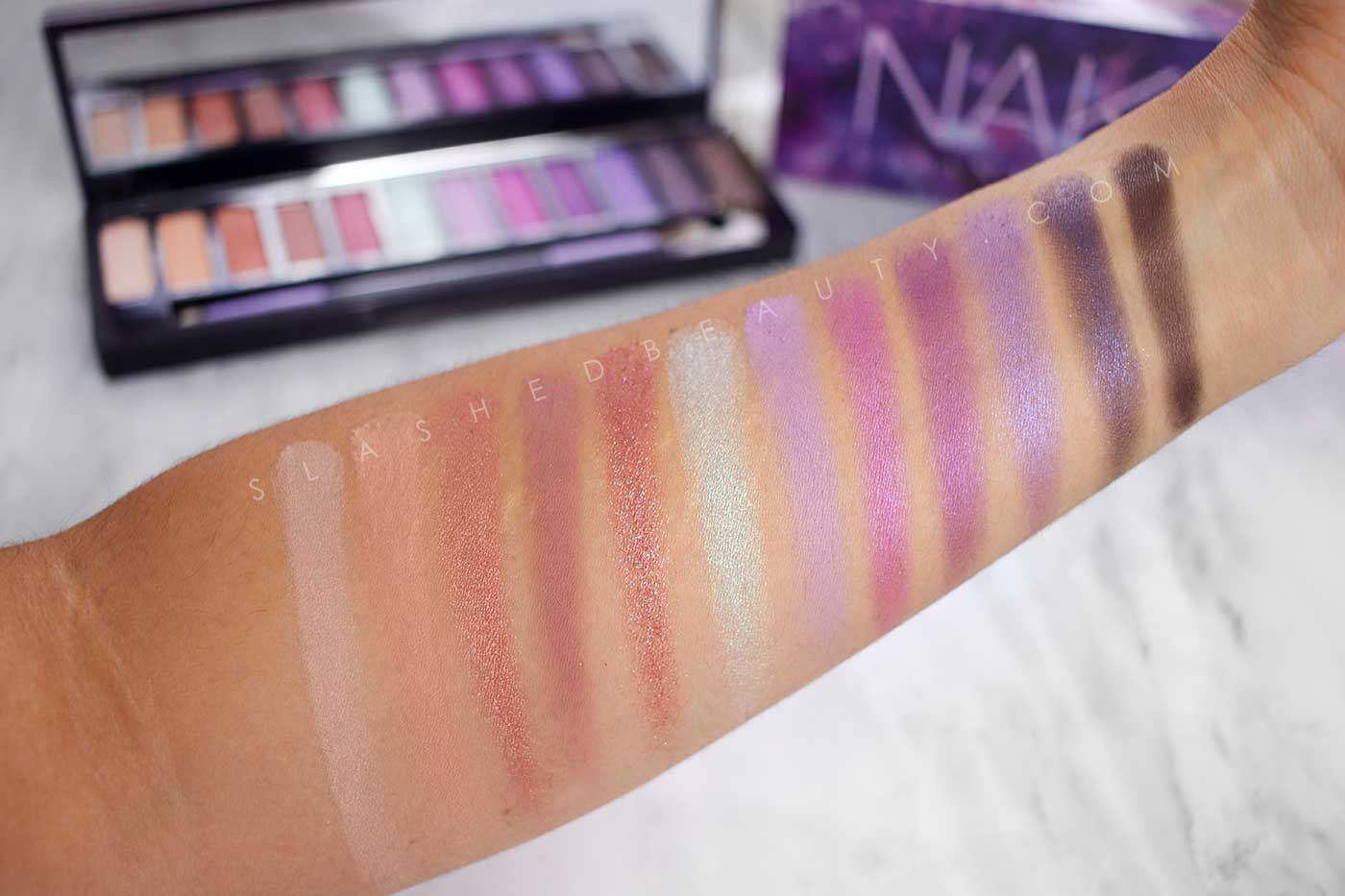 NEW Urban Decay Naked Ultraviolet Palette Review & Swatches | Slashed Beauty