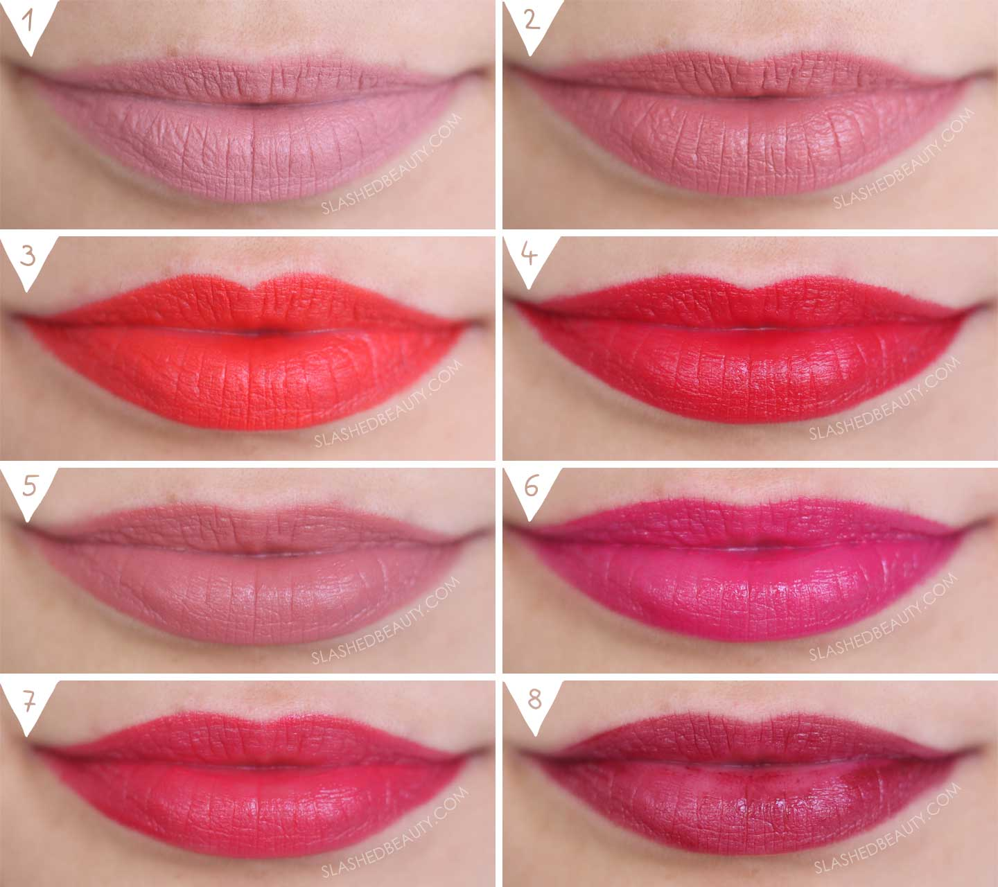 Revlon x Sofia Carson Collection Lipstick Swatches | Slashed Beauty