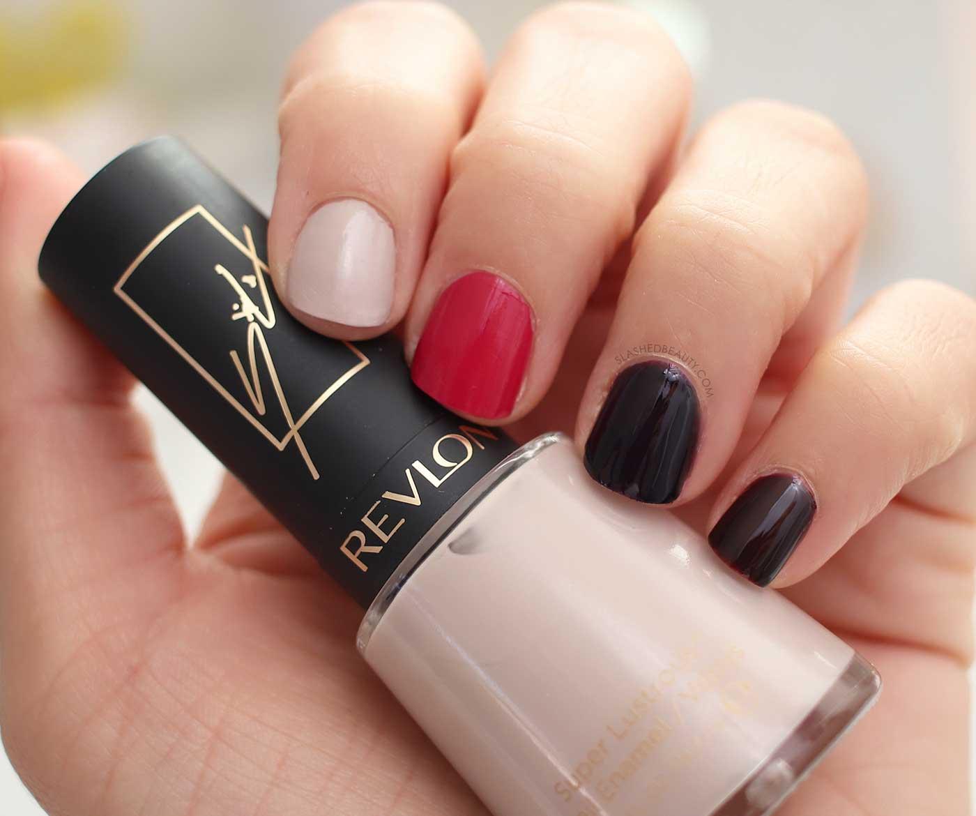 Revlon x Sofia Carson Nail Polish Swatches | Slashed Beauty