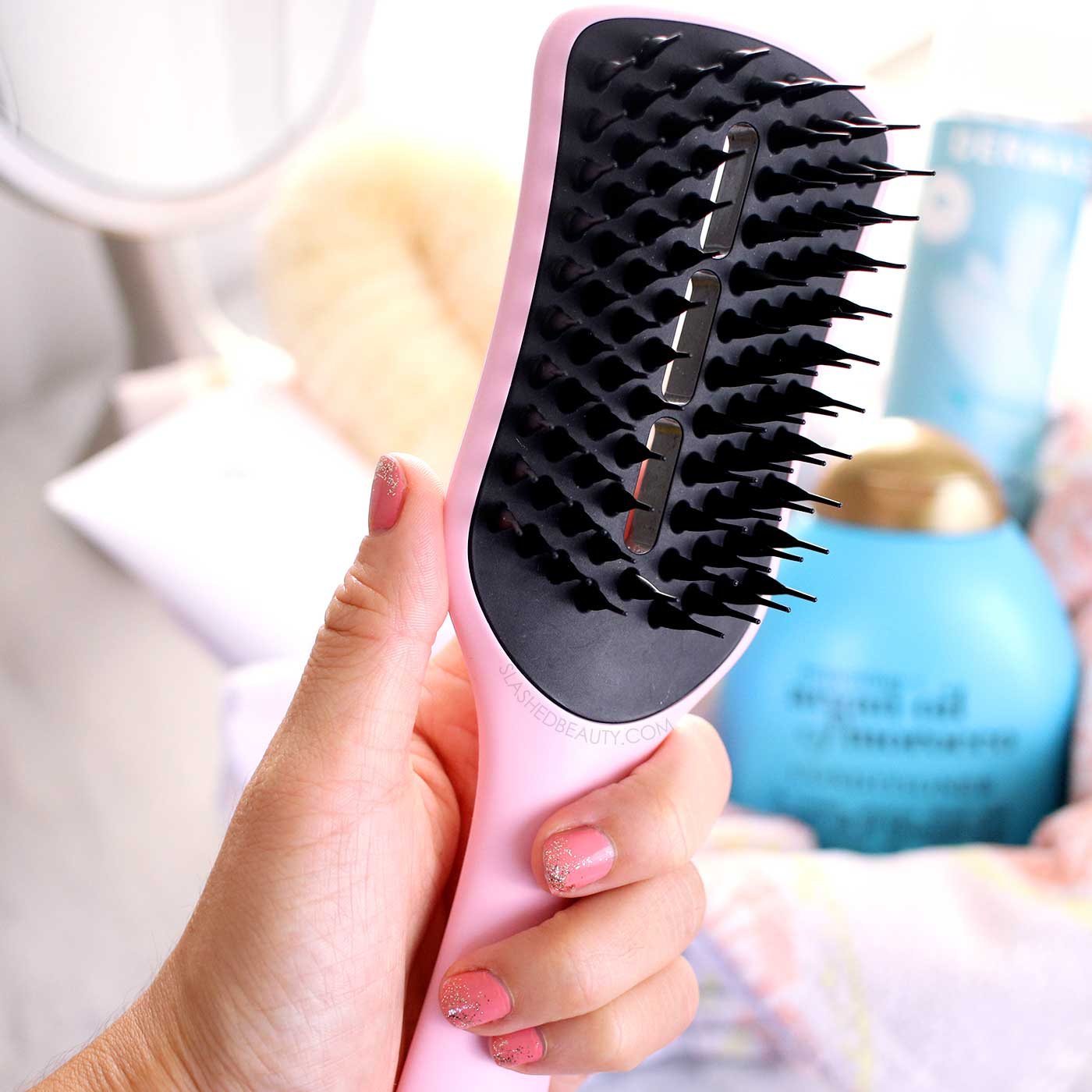 Best Detangling Hairbrush for the Shower: Tangle Teezer Ultimate Vented Hairbrush   6 Best Shower Products for Summer   Slashed Beauty