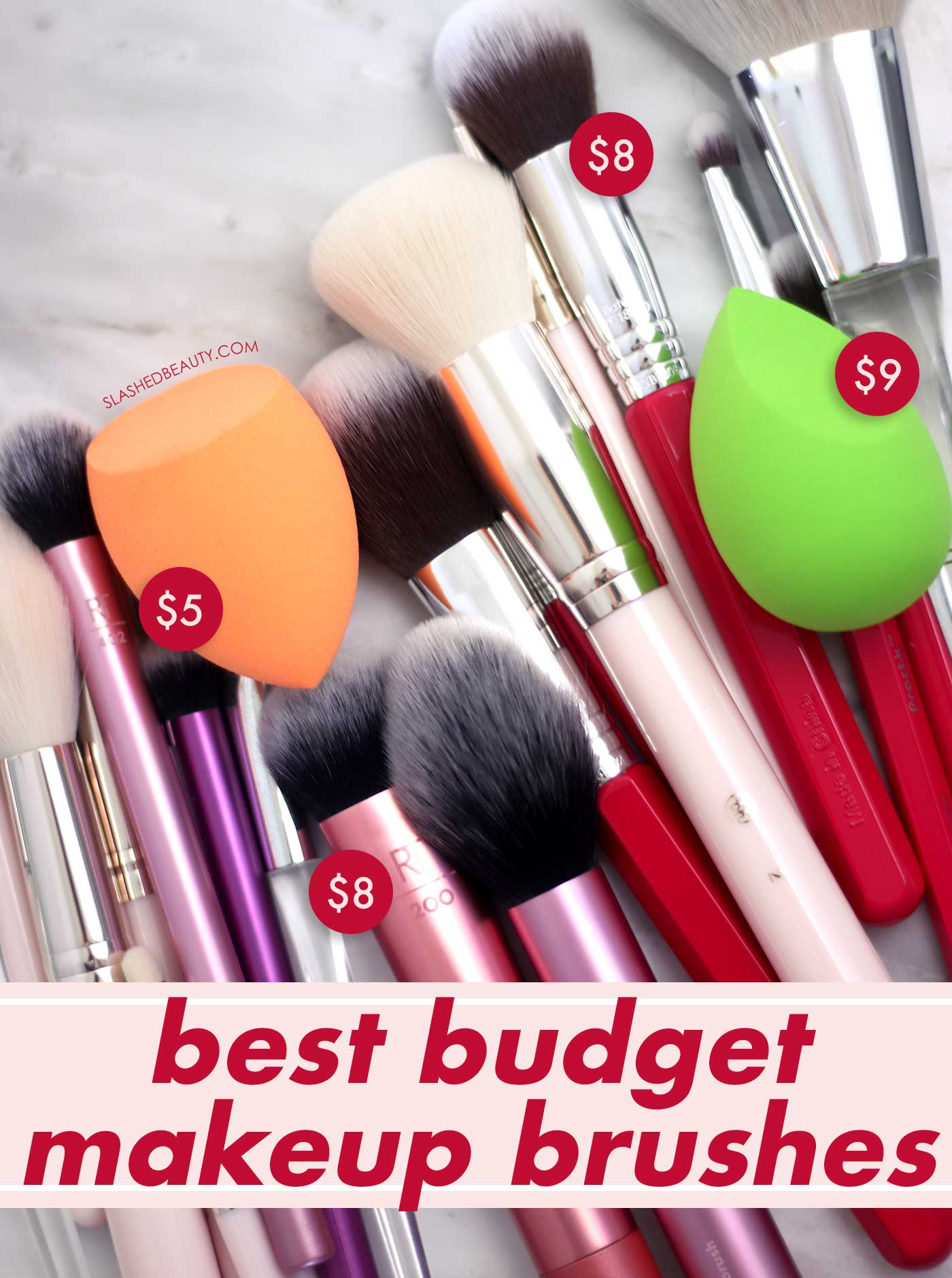 These 4 Brands Make the Best Budget Makeup Brushes | Best Cheap Makeup Brushes | Slashed Beauty