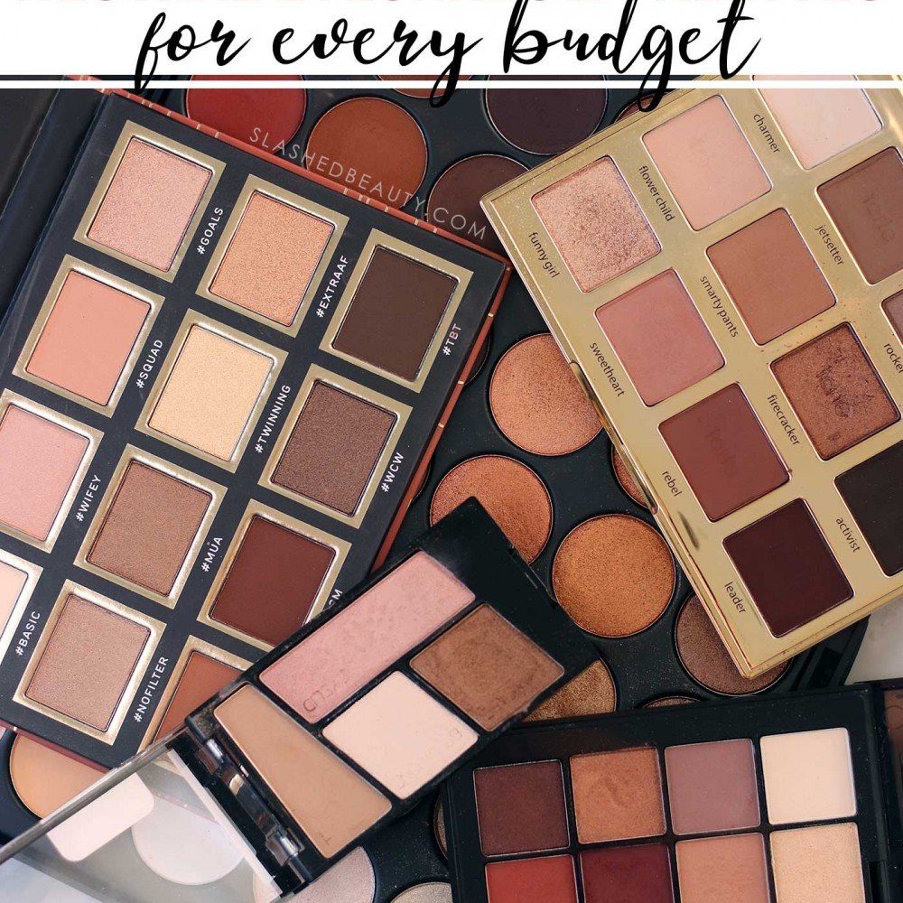 5 Neutral Eyeshadow Palettes for Every Budget