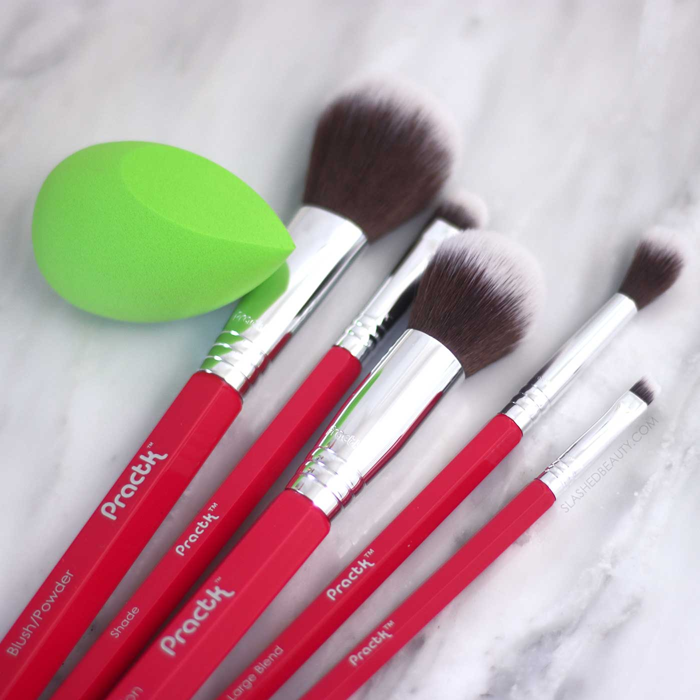 Practk Makeup Brushes Review | The 4 Best Brands for Budget Makeup Brushes | Slashed Beauty