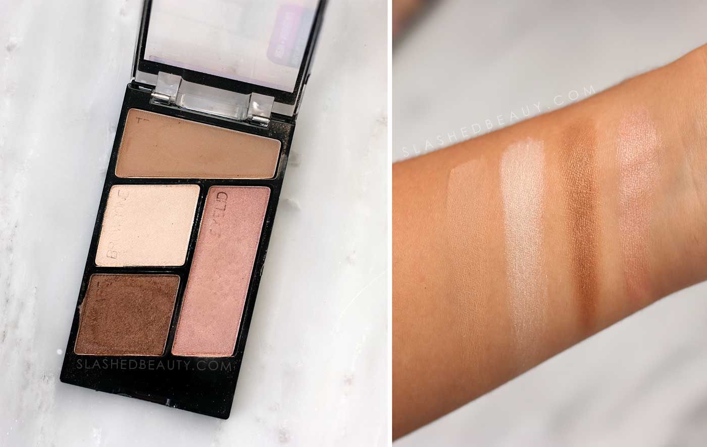 Wet n Wild Walking on Eggshells Palette Swatches | 5 Neutral Eyeshadow Palettes for Every Budget | Slashed Beauty