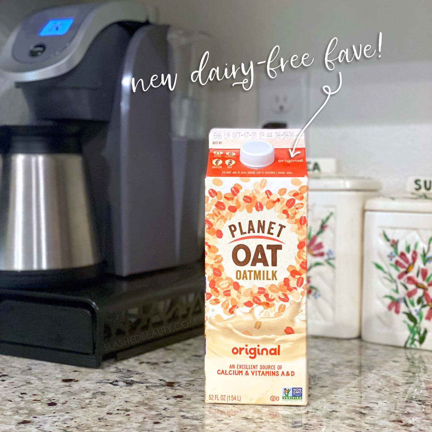 Planet Oat Milk Dairy-Free Swap | Going Dairy Free for Acne: My 30 Day Results | Does Going Dairy Free Help with Acne? | Slashed Beauty