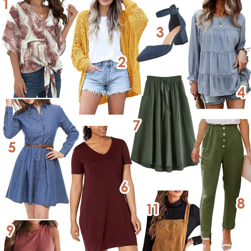 11 Warm Weather Fall Outfit Finds from Amazon