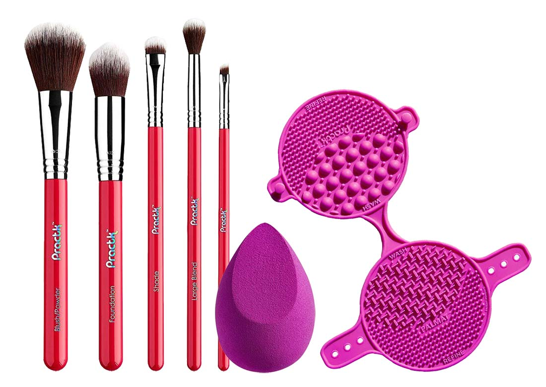Practk Makeup Brushes Review | Best Amazon Beauty Products | Slashed Beauty