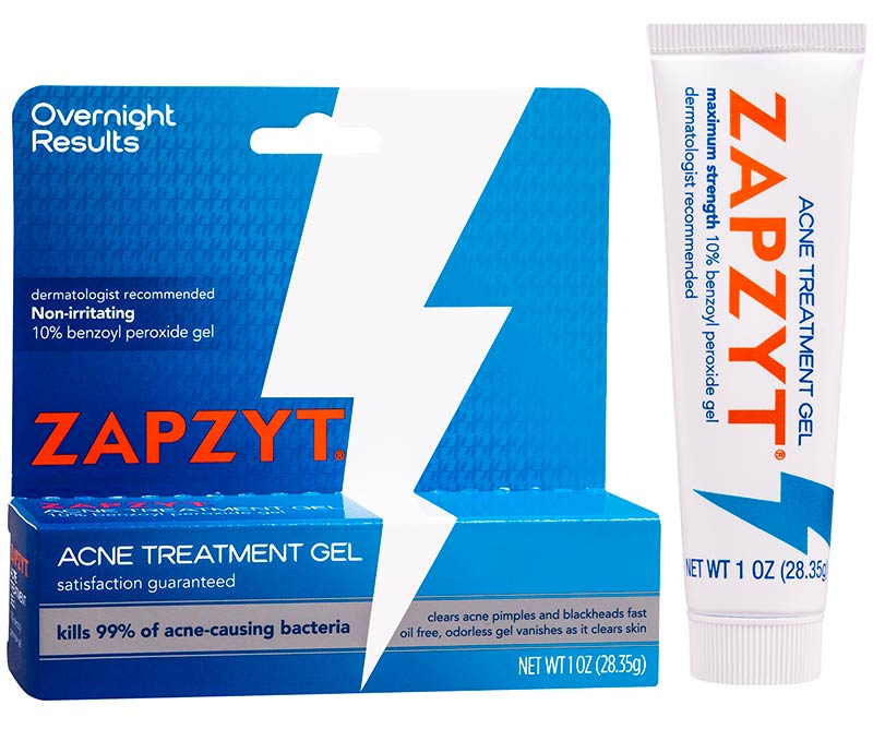 Zapzyt Acne Treatment Gel | 4 Spot Treatments that Clear Acne Fast for Every Budget | Slashed Beauty