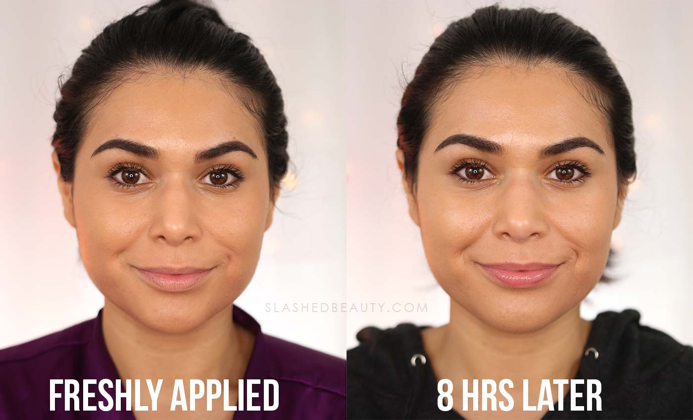 REVIEW: L'Oreal Skin Paradise Water Infused Tinted Moisturizer for Combo Skin | Before and After 8 Hours | Slashed Beauty