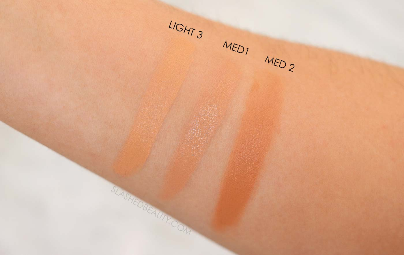 REVIEW: L'Oreal Skin Paradise Water Infused Tinted Moisturizer for Combo Skin | Swatches Light 3, Medium1, Medium 2 | Slashed Beauty