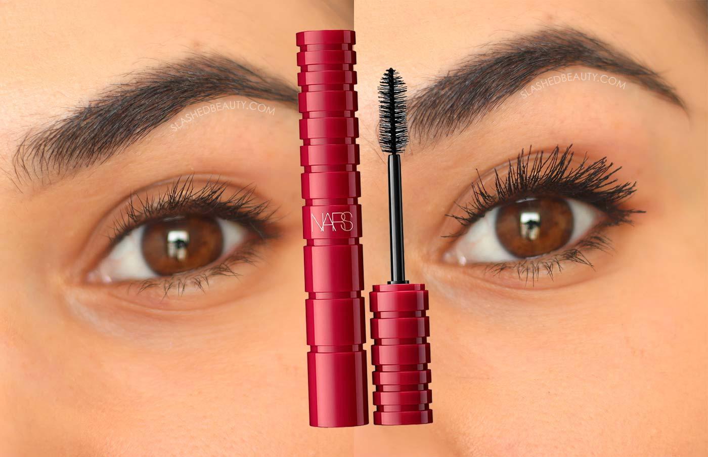 NARS Climax Mascara Before & After | NARS Climax Mascara Dupe | Slashed Beauty