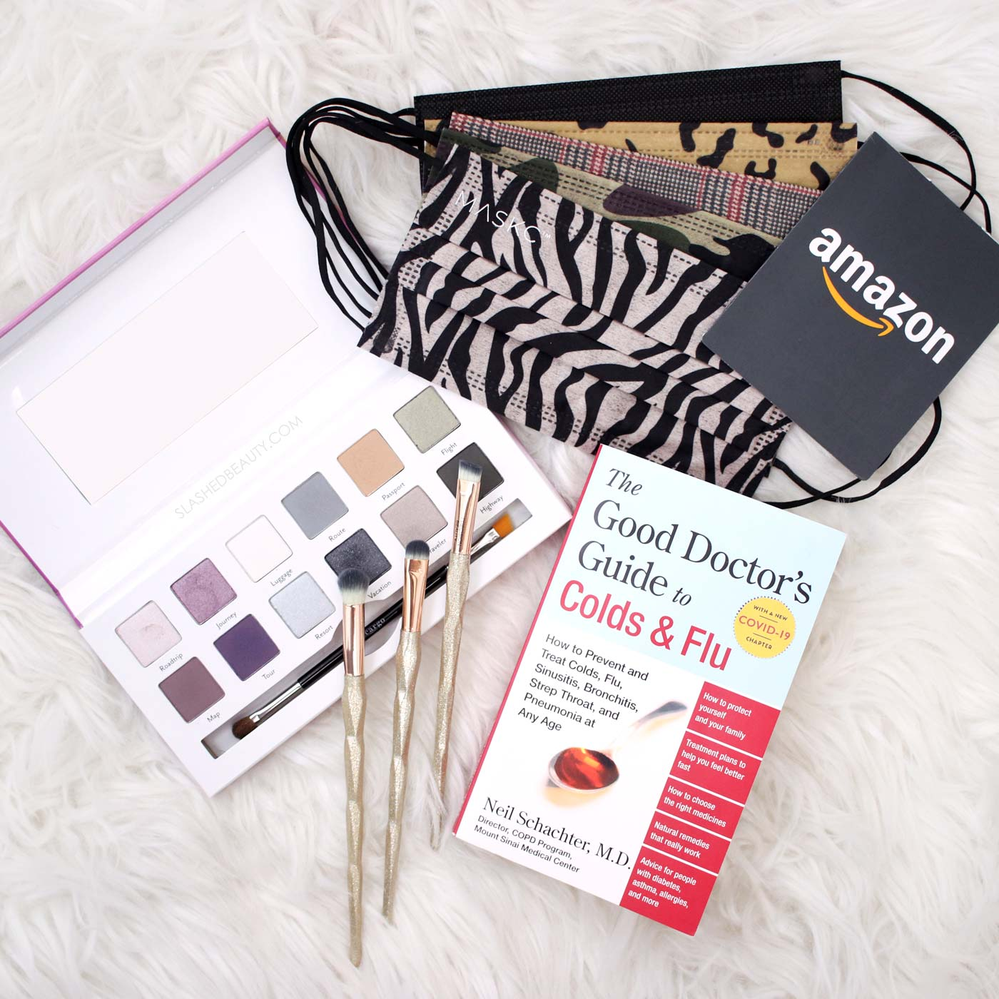 2021 Essentials Giveaway: Masks, Makeup & Amazon Gift Card! | Slashed Beauty
